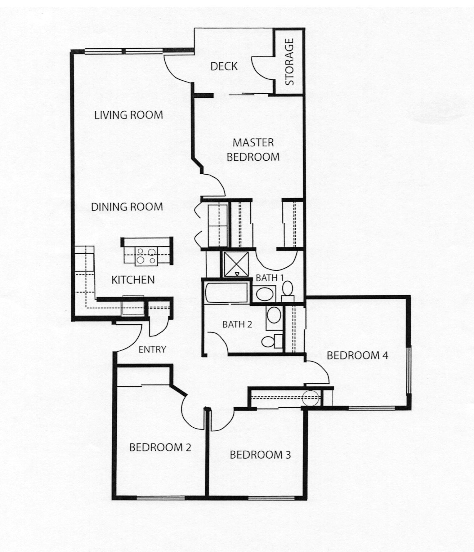 4 Bedroom Floor Plans Pricing And Floor Plans