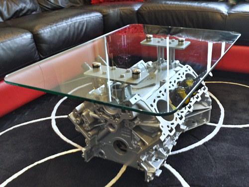V8 Jaguar Coffee Table Gift Present Kiley Clinton Birmingham