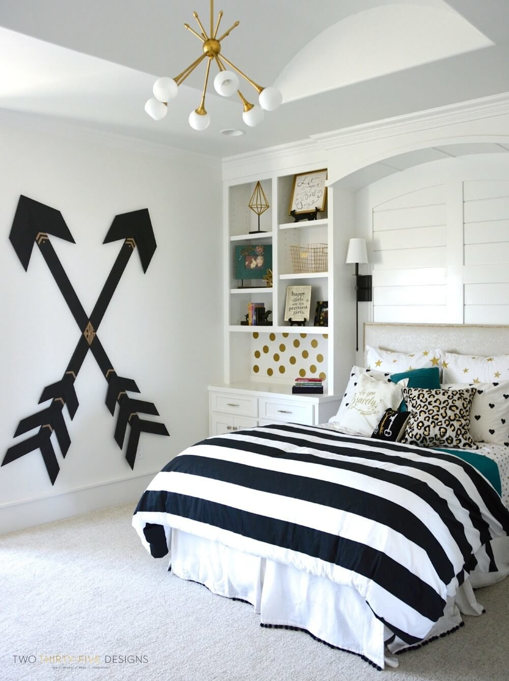 65+ Feminine and Fashionable Teenage Girl Bedroom Ideas That Will Blow Your Mind
