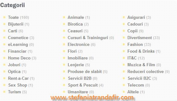 categorii in 2 Parale la data de 9 septembrie 2012