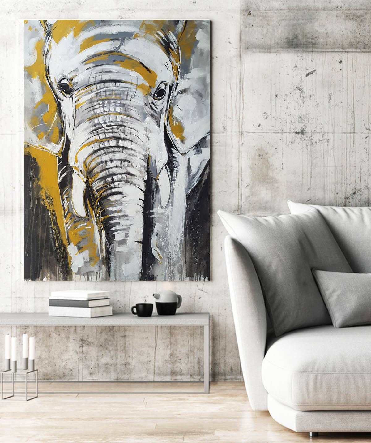 Kunstdrucke Online Kunstdruck Elefant 2 One Of The Big Five