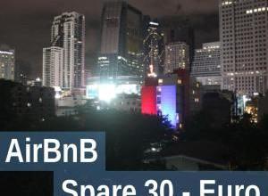 30,- Euro sparen bei AirBnB Übernachtung