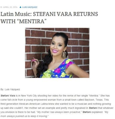 Latin Trends -2014 Interview