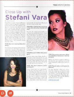 Stefani Vara- Texas Lifestyle Magazine