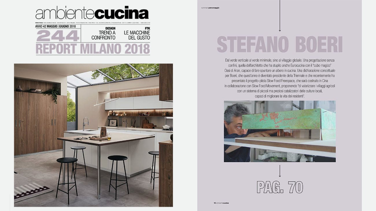 Cucina Hacker Oasi A Kitchen Under The Branches Of A Tree Stefano Boeri