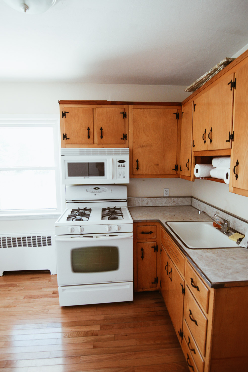 Paint My Kitchen Cabinets Kitchen Before After How I Painted My Kitchen Cabinets White