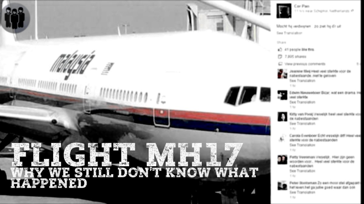FLIGHT MH17 Why we still don't know what happened