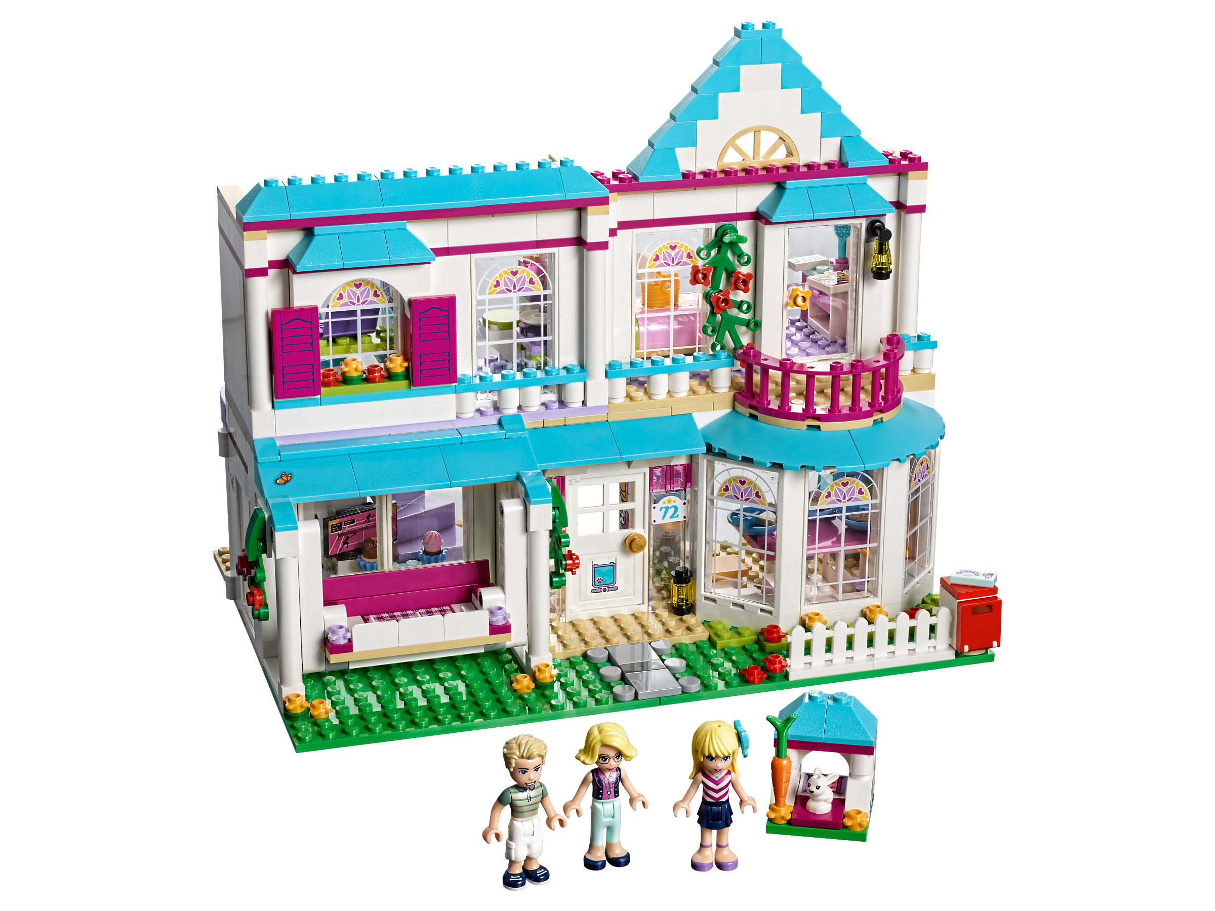 Lego Friends Badezimmer Stephanies Haus 41314 1
