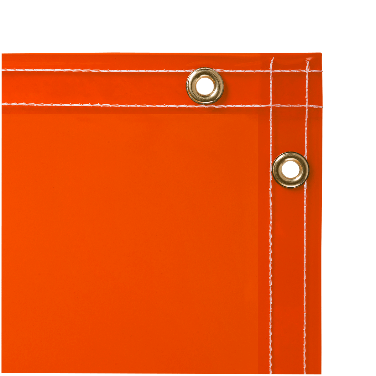 Arcview 14 Mil Flame Retardant Tinted Transparent Vinyl Welding Curtain Orange Steiner - Vorhang Pvc Transparent