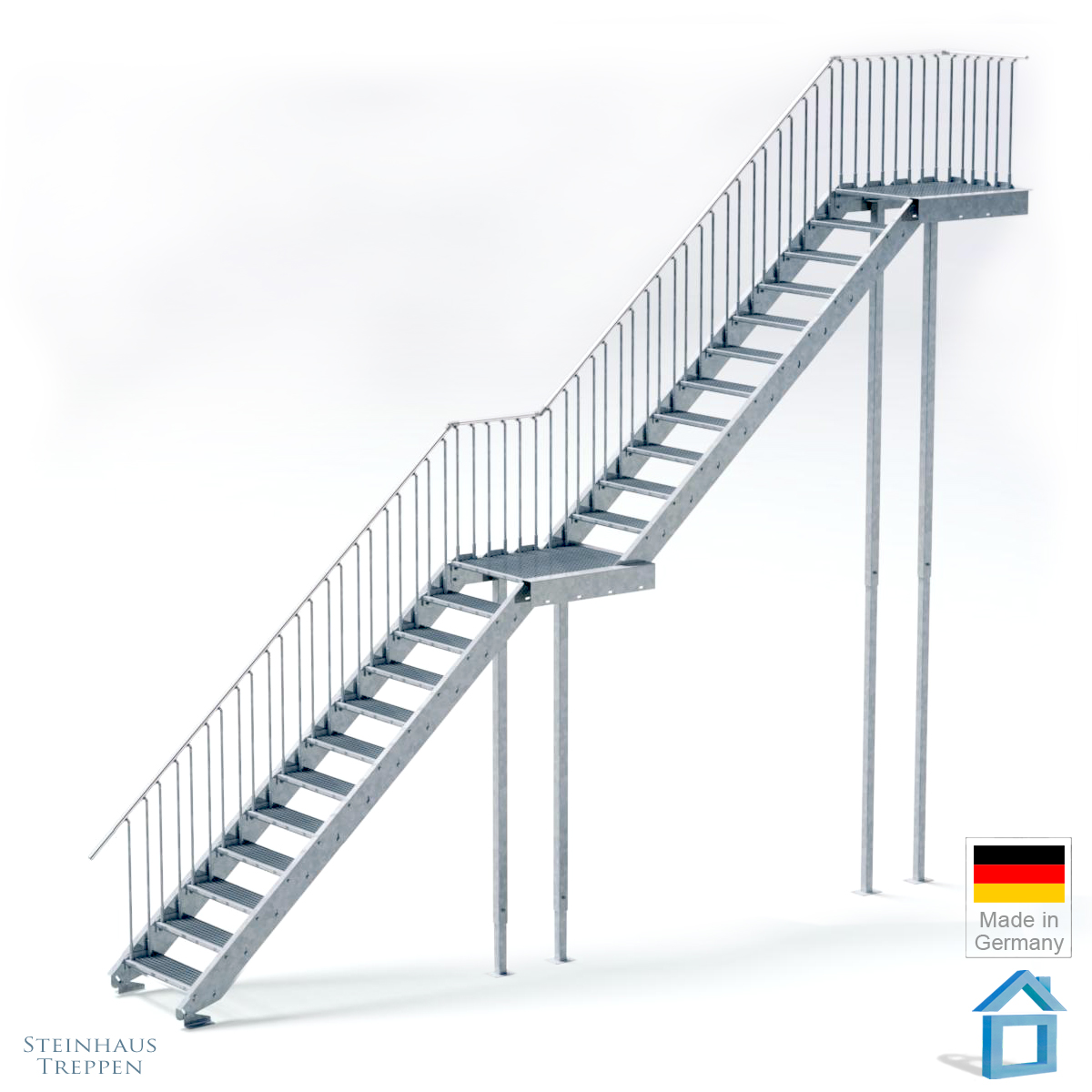 Wandleuchte Led Treppe Alu Treppe Auen Cool Hunde Rampe Und Treppe With