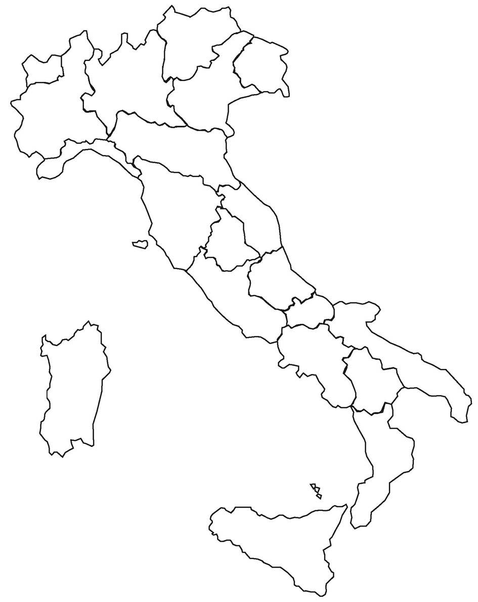 Cartina D Italia Da Stampare Disegni Colorare Imagixs