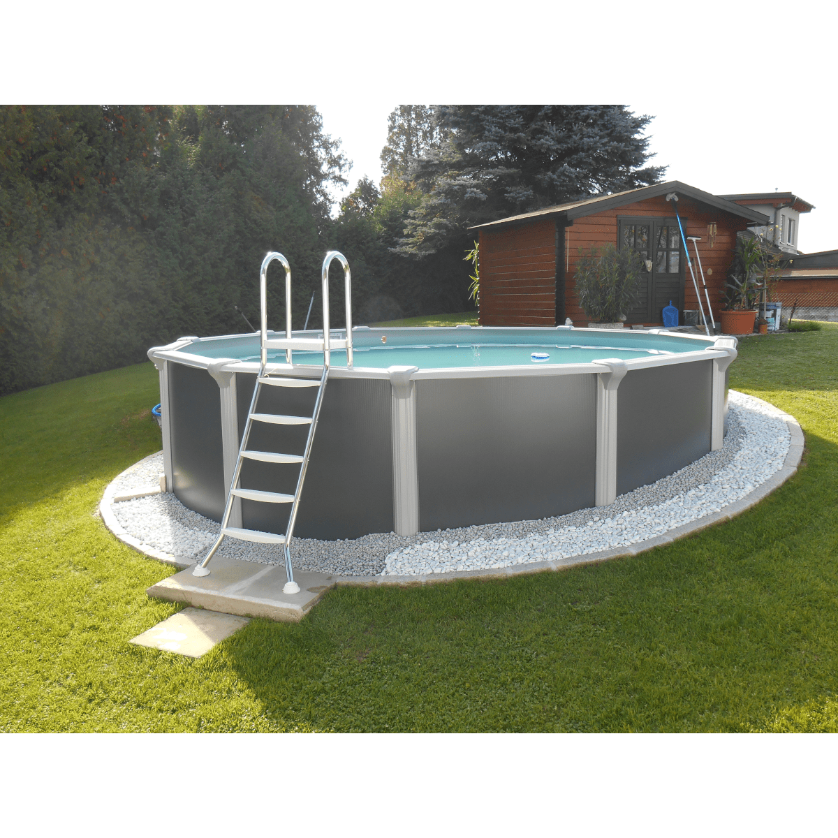 Pool Rund Komplett 3 6 X 1 32m Steirerbecken Pools Supreme Design Rund