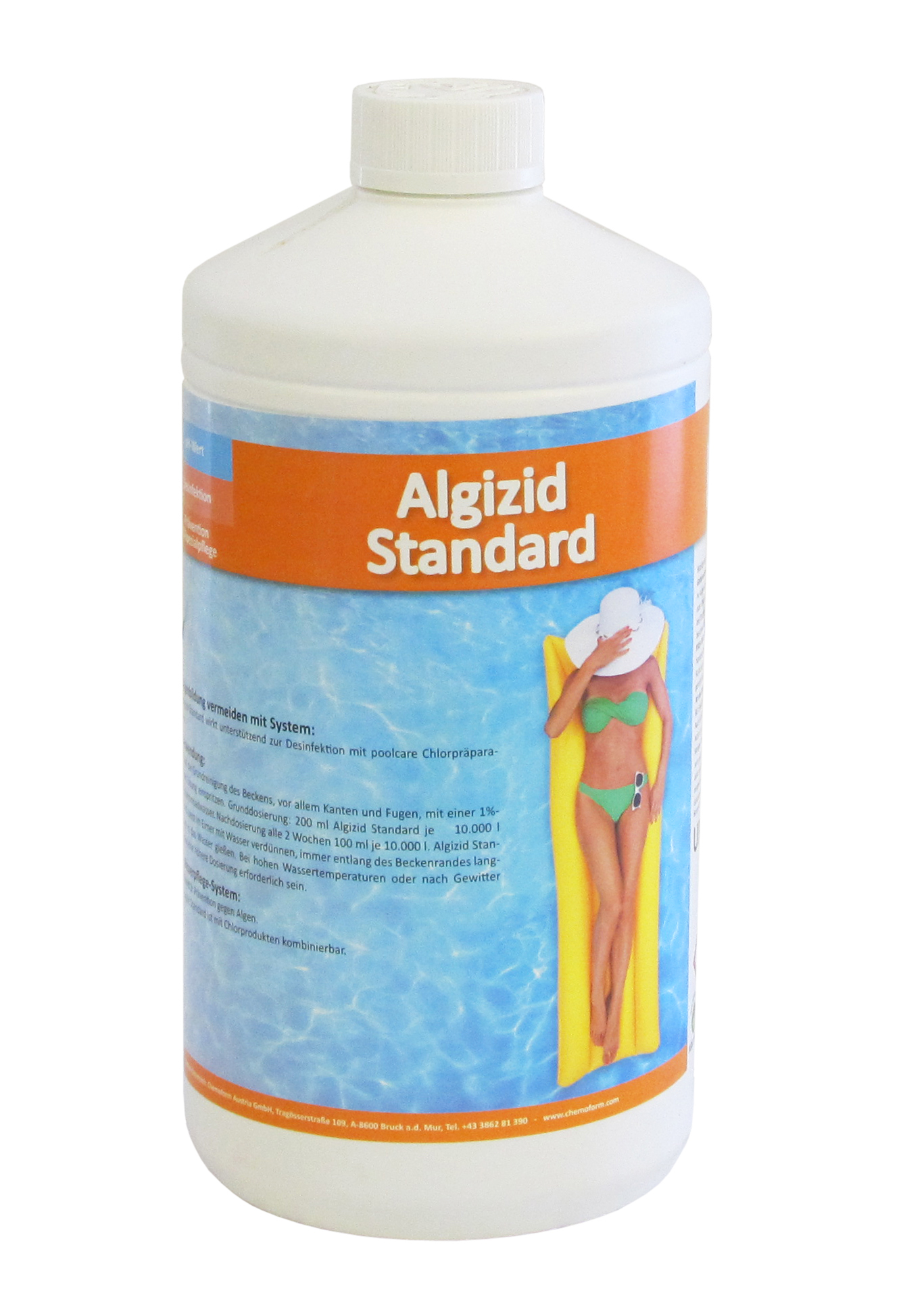 Poolpflege Tipps Poolcare Algenmittel 1 Lt Steirerbecken Pools