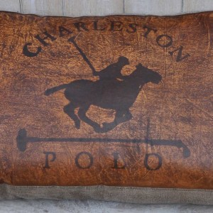 Charleston Polo Cushion