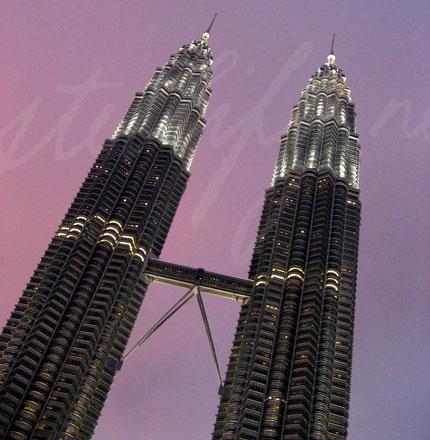 Petronas Towers (Night Shot)