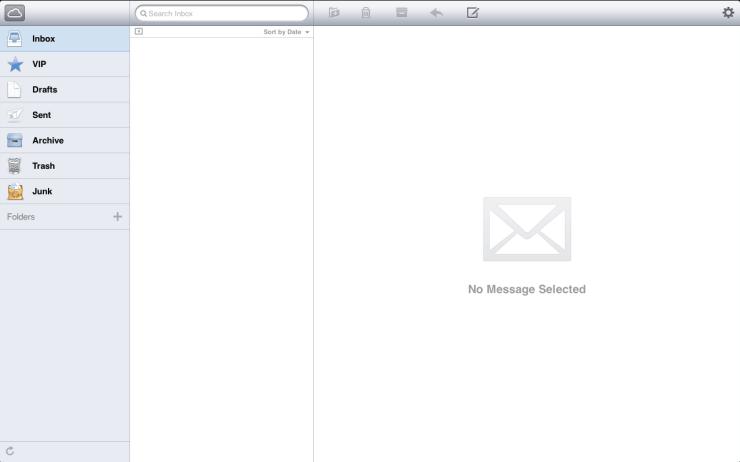 Inbox zero: iCloud