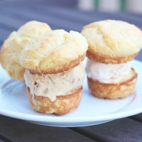 Baked Sunday Mornings: Brioche Ice Cream Sandwiches