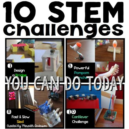10 STEM challenges cover