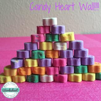 Candy Heart Wall