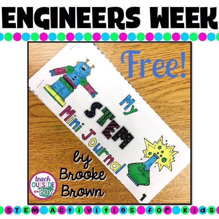 STEM Mini Journal for Quick Challenges
