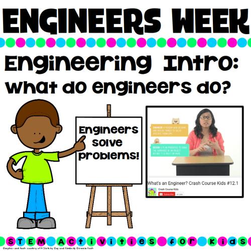 National engineers week what do engineers do