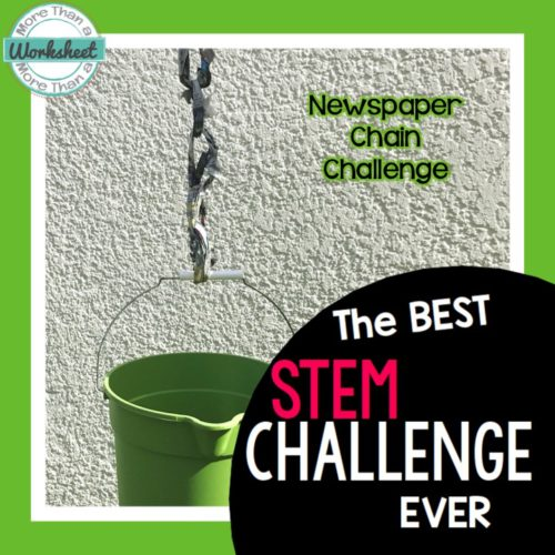 BEST STEM Challenge ever by More Than a Worksheet