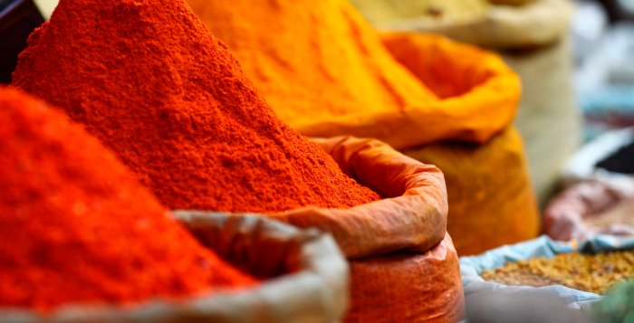 spicy food - spices
