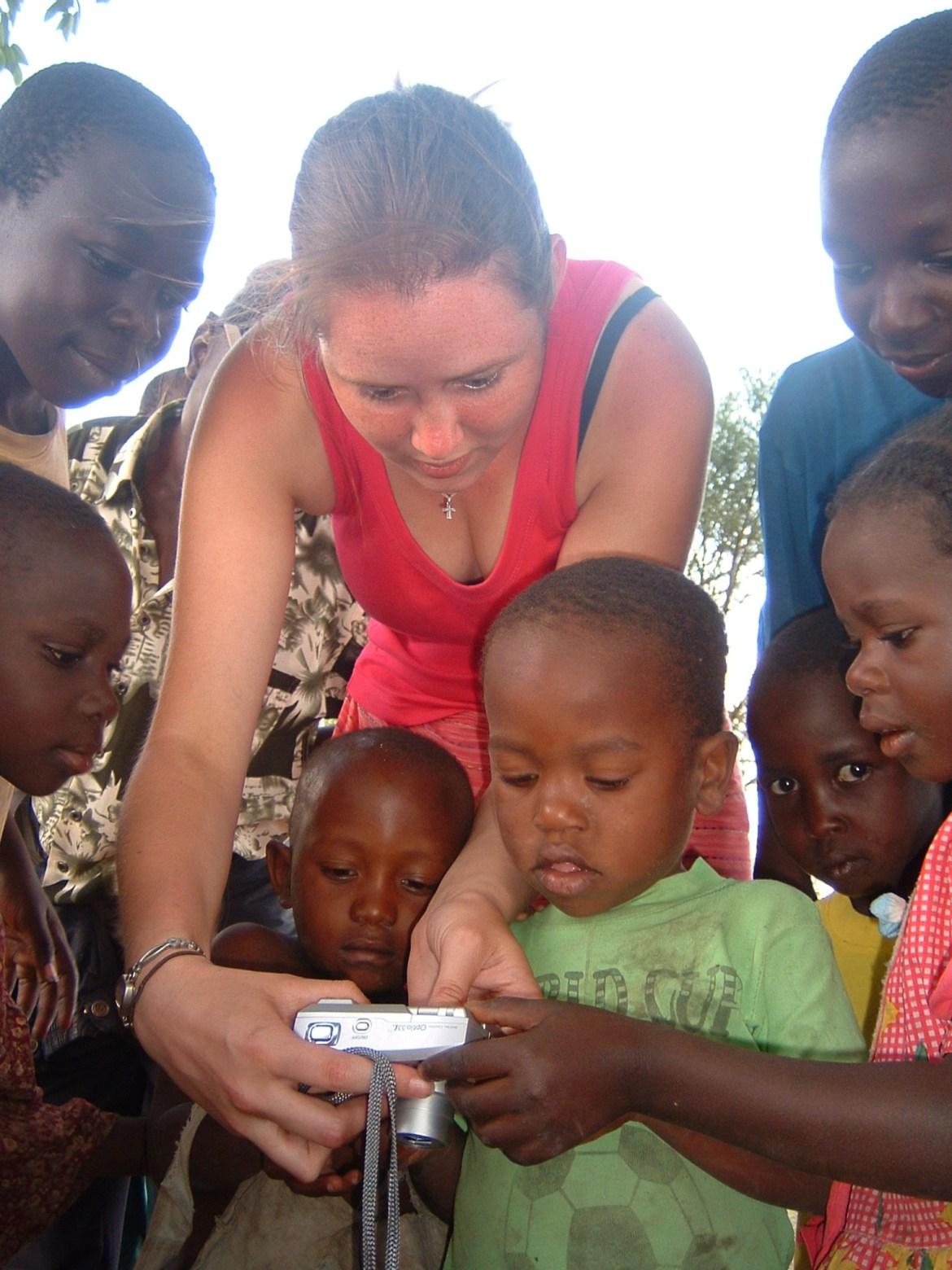 Nat in Uganda 2004
