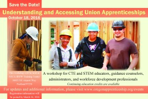 Understanding and Accessing Union Apprenticeships Workshop @ NECA-IBEW Training Center | Portland | Oregon | United States