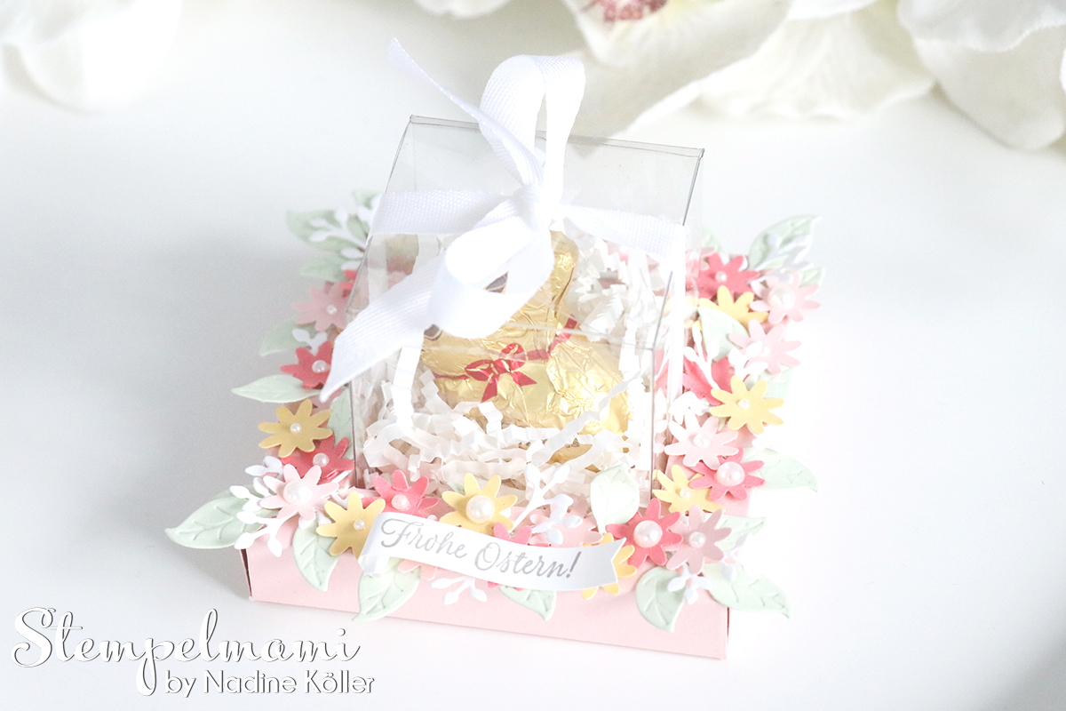 Youtube Tischdeko Ostern Video Anleitung Osterkoerbchen Shadow Box Stampin Up
