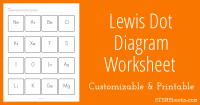 Printables. Lewis Dot Structure Worksheet ...