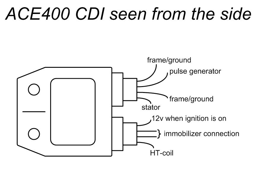 speedfight cdi wiring diagram