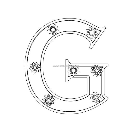 Christmas Letter Stencils Stencil Letters Org