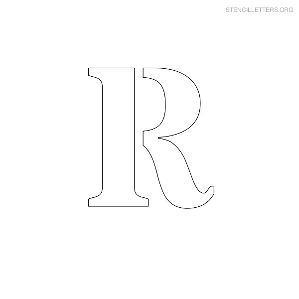 picture about Giant Printable Letters identified as Printable Letter R Printable Huge Letters Alphabet Massive