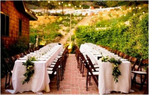 Rectangular Tables Add Spice to Your Reception Decor The Personal
