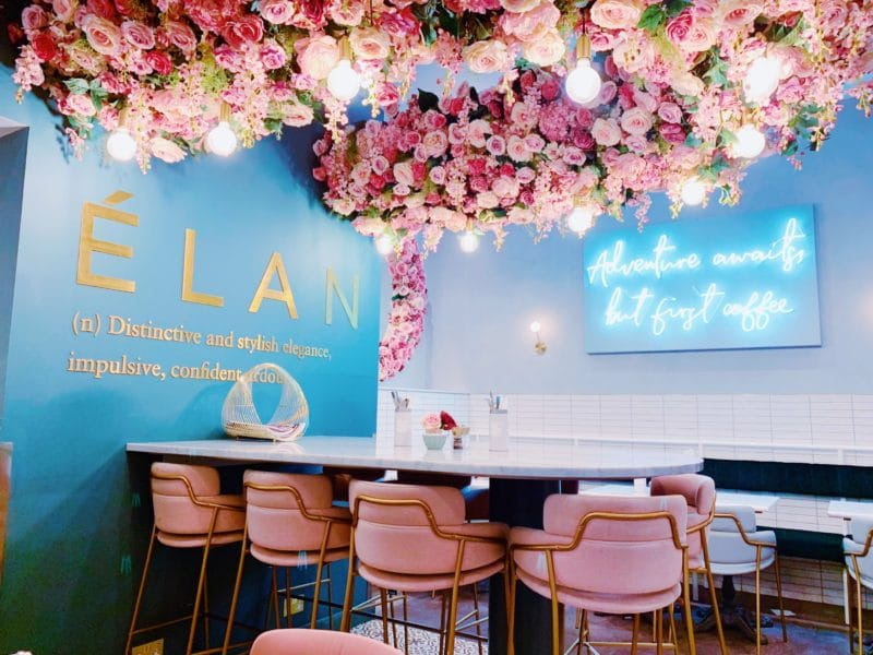 Restaurant Mama Hamburg Beyond The Flower Walls Of Elan Cafe, London | Stephanie