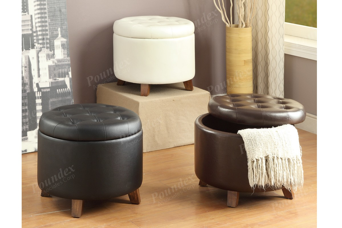 Ottoman Cocktail Table With Storage Furniture Cheap Ottomans Round Storage Ottoman Round