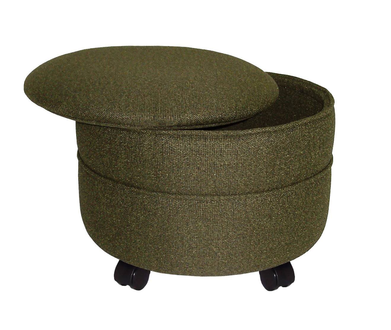 Ottoman Cocktail Table With Storage Furniture Amazing Round Storage Ottoman For Home