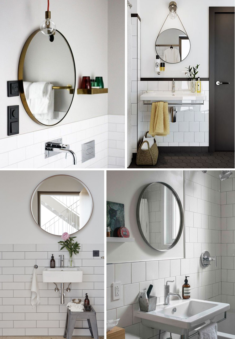 Farmhouse Bathroom Lighting Bedroom: Appealing Oversized Mirrors For Home Decoration