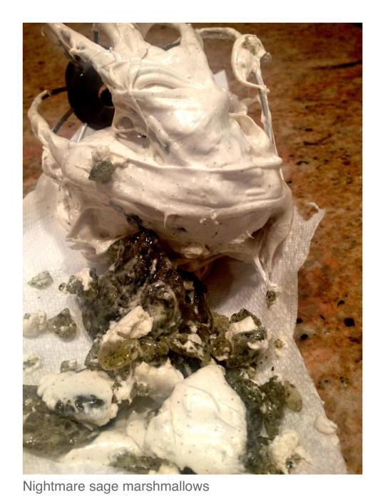 Sage Marshmallow Nightmare