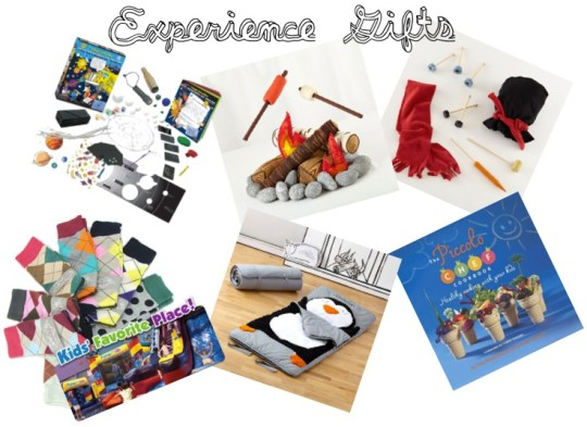 Give kids gifts with experiences tied to them! Brilliant + affordable!