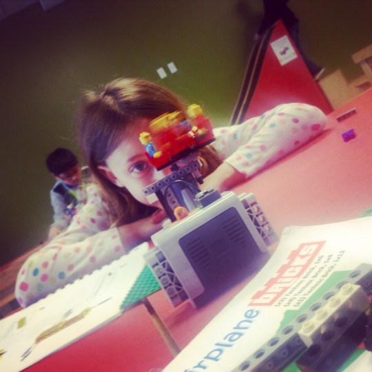 Motorized Lego Merry-Go-Round