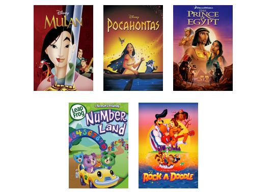 Kid-friendly Musicals Streaming on Netflix