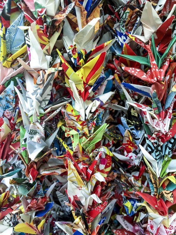 oragami-cranes