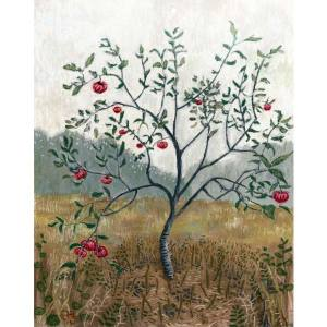 Young Apple Tree, a pastel painting by Stephanie Thomas Berry
