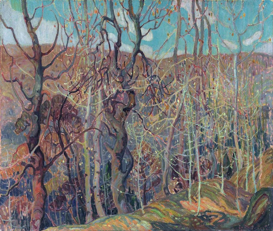 Silvery Tangle by Franklin Carmichael