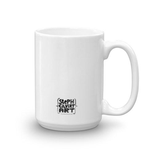 Medium Of Plain White Travel Mugs