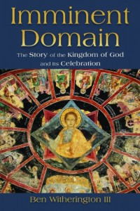 The cover of Witherington's Imminent Domain