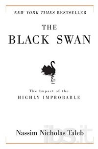 The cover of Taleb's The Black Swan