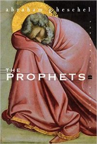 The cover of Heschel's The Prophets